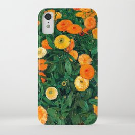 Marigolds by Koloman Moser, 1909 iPhone Case