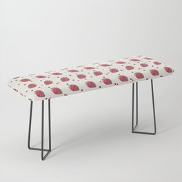 AFE Chocolate Strawberries Pattern Bench