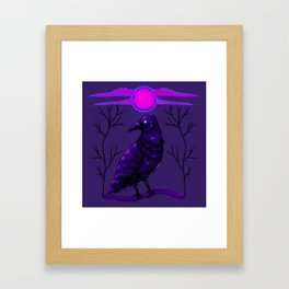 Rise of the Raven Framed Art Print