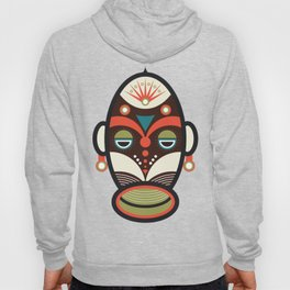 Ethnic African Culture Mask Hoody