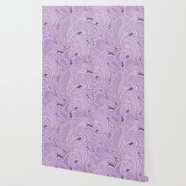 paisley purple Wallpaper