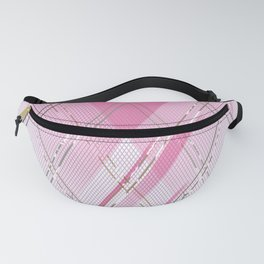 Experimental pattern 3 Fanny Pack
