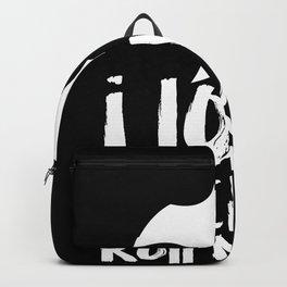 I Love Rock 'n' Roll Backpack