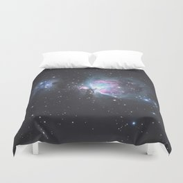 Great Orion Nebula M42, in the constellation of Orion, Milky Way Duvet Cover