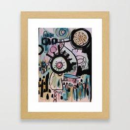 Obius Framed Art Print