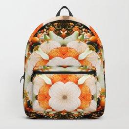 4 Point Mandala - Pumpkins Backpack