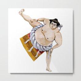 sumo Japan Metal Print
