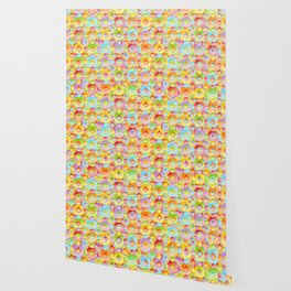 Rainbow Confection Wallpaper