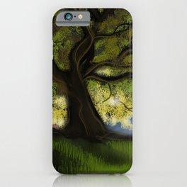 Dawn Tree iPhone Case