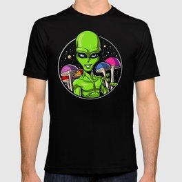 Alien Magic Mushrooms T-shirt