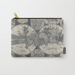World Map 1702 Carry-All Pouch