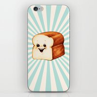 bread iPhone & iPod Skins featuring Bread by Kelly Gilleran