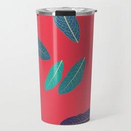 Pink Fall Travel Mug