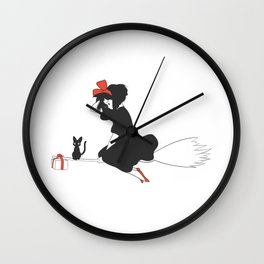Kiki's Delivery Wall Clock