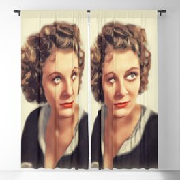 Ann Dvorak, Vintage Actress Blackout Curtain