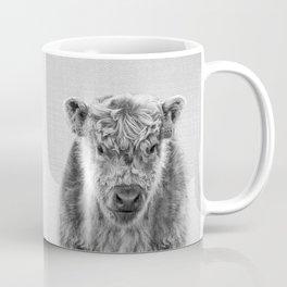 Fluffy Cow - Black & White Coffee Mug