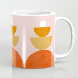 Abstraction Circles Balance Modern Minimalism 007 Coffee Mug
