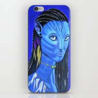 avatar iPhone & iPod Skins featuring Avatar by maggs326