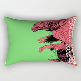 DASYPODIDAE Rectangular Pillow