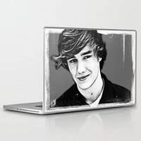 liam payne Laptop & iPad Skins featuring Liam Payne by D77 The DigArtisT