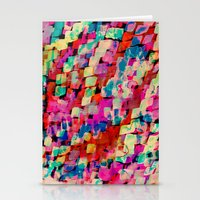 mineral Stationery Cards featuring Mineral by Amy Sia