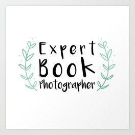 Expert Book Photographer Art Print