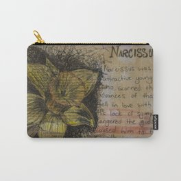 Daffodil collage Carry-All Pouch