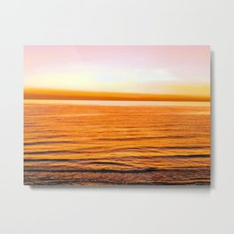 Sun kissed skin on the beach Metal Print