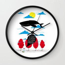CIAO SIGNORA BALENA Wall Clock
