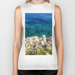 Saturday By The Sea Biker Tank