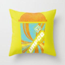 Slurpee Love Throw Pillow