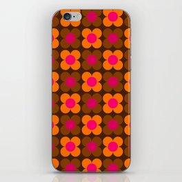 Flower pattern iPhone Skin