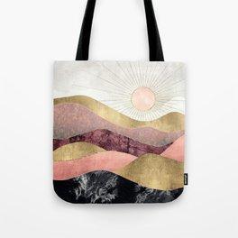 Blush Sun Tote Bag