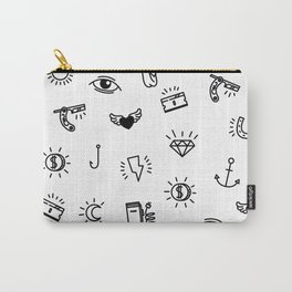 Fun Stuff! - White Carry-All Pouch