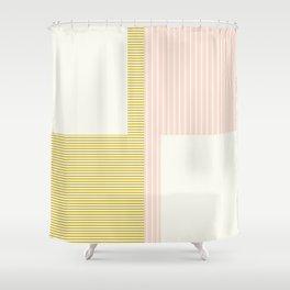 Figaro in Pastel Shower Curtain