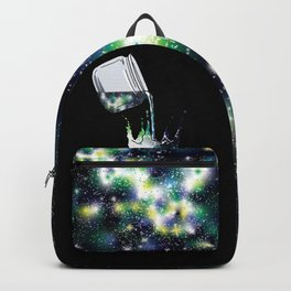 Galaxy Paint - Blue Backpack