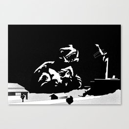 Gamera: The Giant Monster Canvas Print