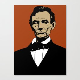 President Lincoln Canvas Print