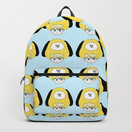 Yoongi in a Chimmy costume Backpack