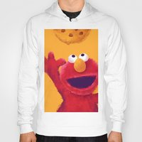 elmo Hoodies featuring Cookies 2 by Lime