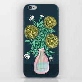 Chrysanthemum Bouquet iPhone Skin