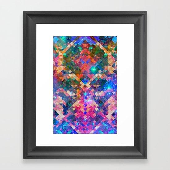 Geocosmic Framed Art Print