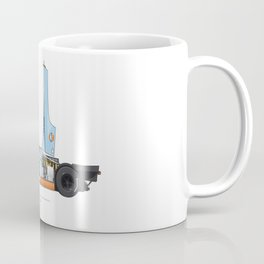 Outline Series N.º4, Steve McQueen, Porsche 917, Le Mans movie 1971 Coffee Mug