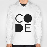 code Hoodies featuring CODE by Nelson Marteleira