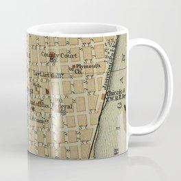 Vintage Map of Milwaukee WI (1904) Coffee Mug