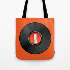 Off the Record Tote Bag