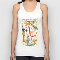 contemporary Tank Tops featuring Contemporary Politics by Andready
