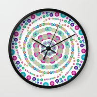 chemistry Wall Clocks featuring Chemistry fun by Mi Nu Ra