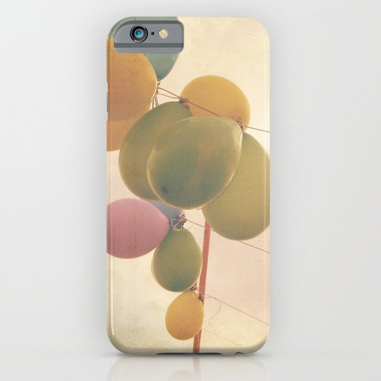 The Vintage Balloons iPhone & iPod Case