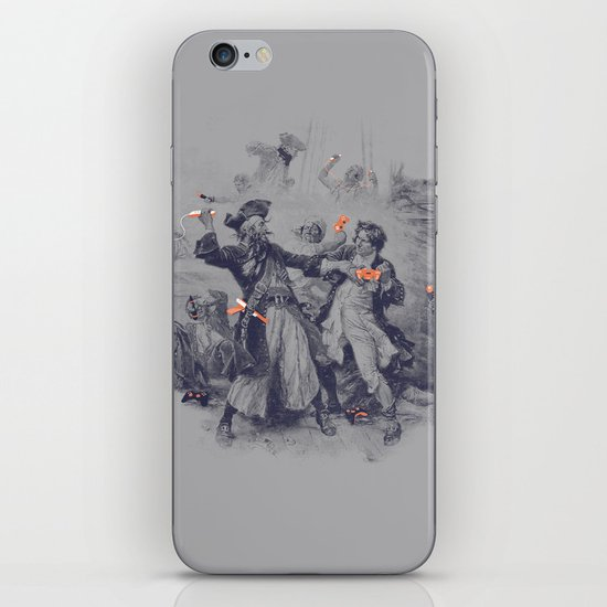 Epic Battle iPhone Skin